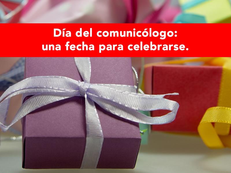 día del comunicólogo
