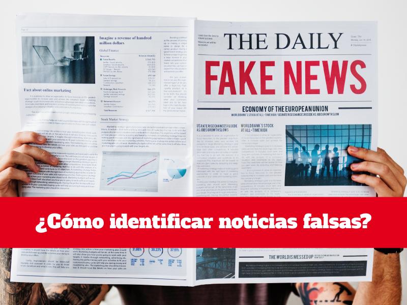 cómo identificar noticias falsas